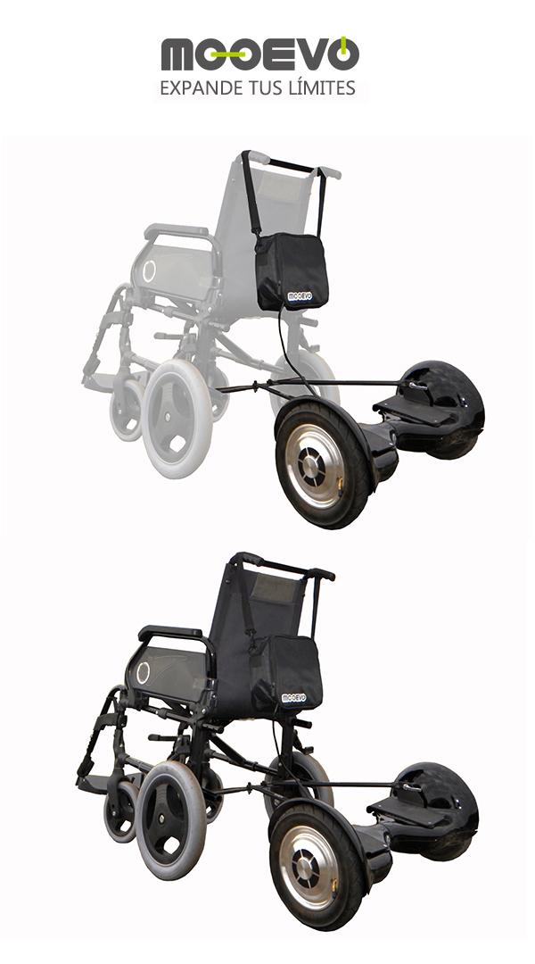 Patin electrico motor ayuda Mooevo para Silla de ruedas ortopedica Alcazar Mobiclinic