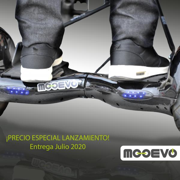 hoverboard para silla de ruedas mooevo