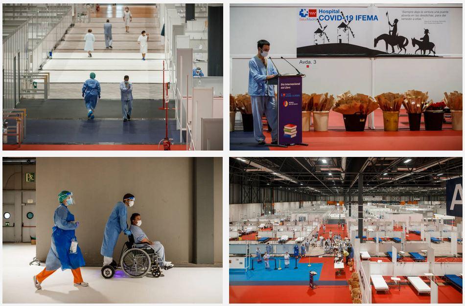 sillas de ruedas ifema hospital movilidad electrica