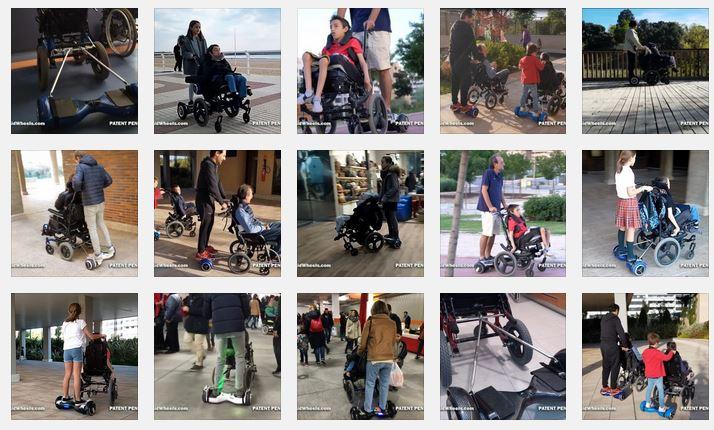movilidad sillas de ruedas aidwheels hoverboard