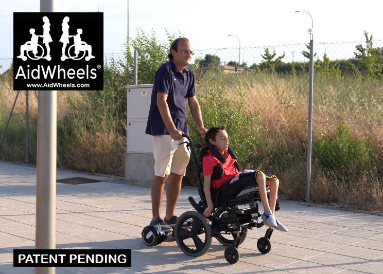 sillas de ruedas con hoverboard minusvalidos