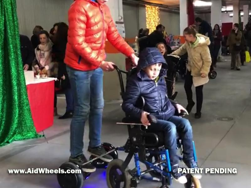 acoplar hoverboard a silla de ruedas como hacerlo