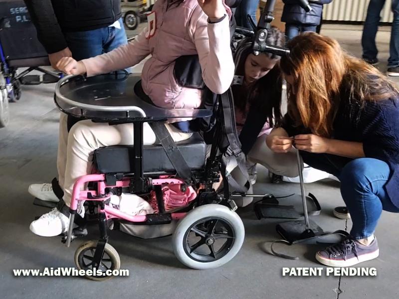 aidwheels para fundaciones paralisis cerebral