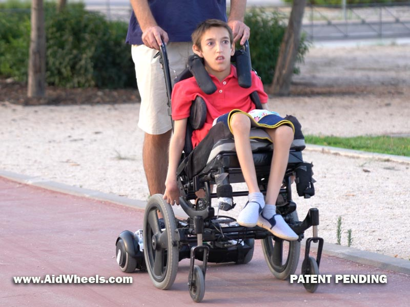 aidwheels silla ruedas hoverboard wheelchair