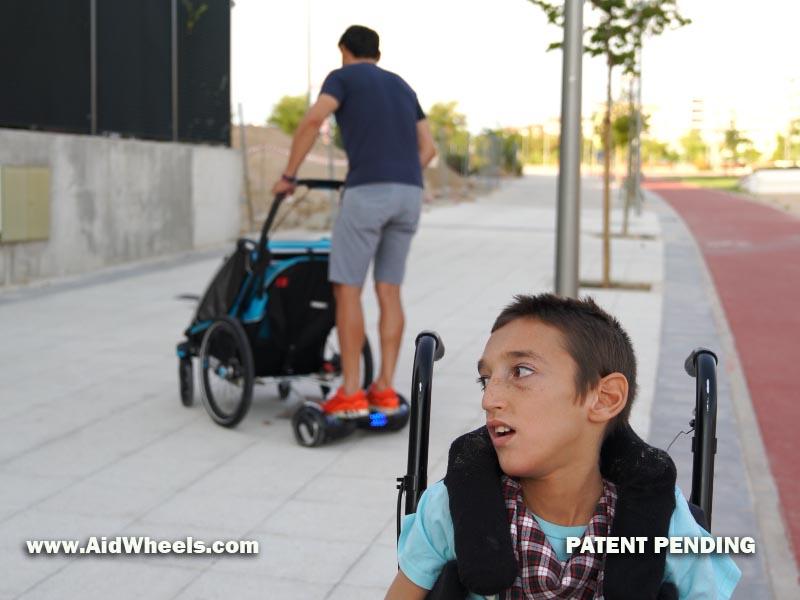 buy hoverboard wheelchair aidwheels 27