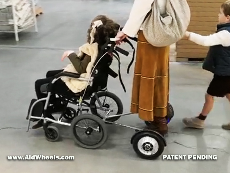 hover board silla de ruedas