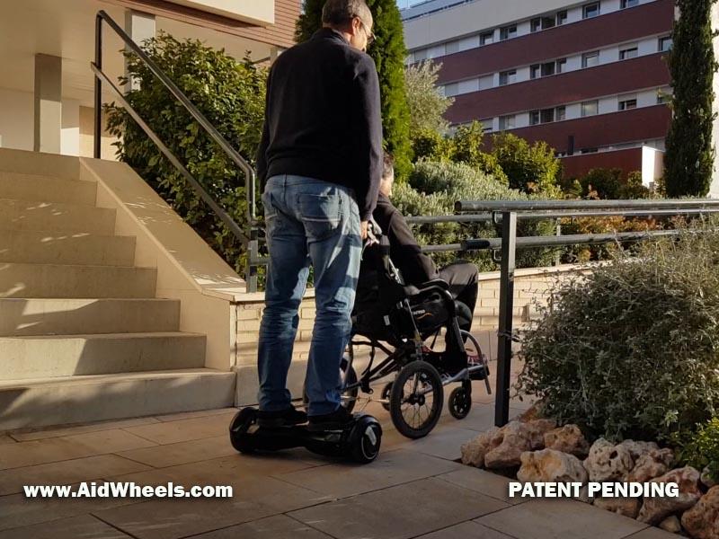hoverboard para sillas de ruedas adultos