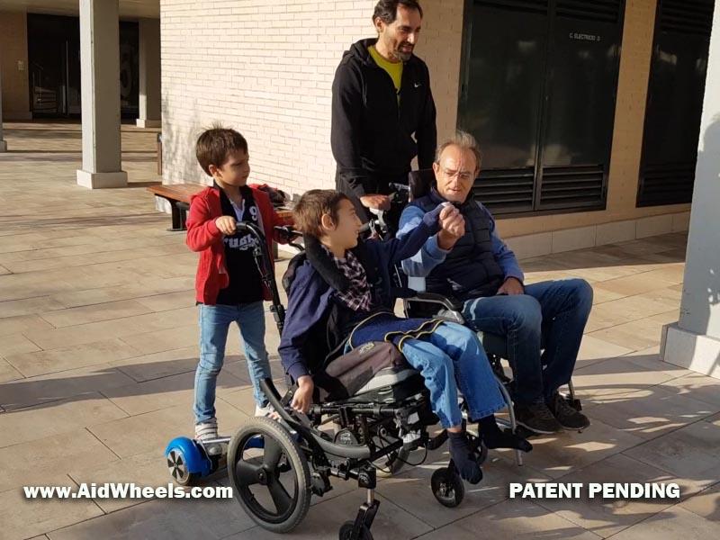 inventos emobilidad electrica sillas de ruedas cuidadores