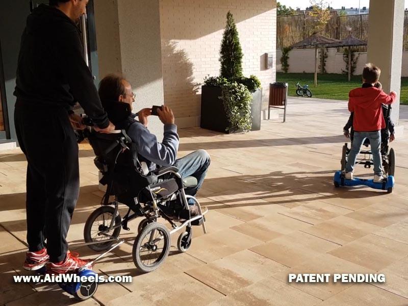 inventos para sillas de ruedas discapacidad ancianos movilidad reducida