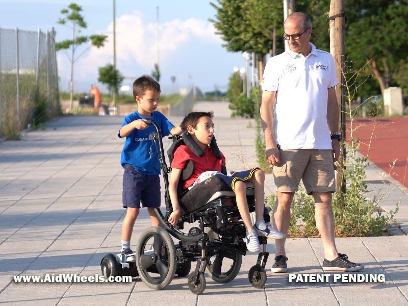 ortopedia silla de ruedas con hiverboard