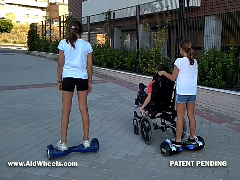 patinete electrico silla de ruedas hoverboard