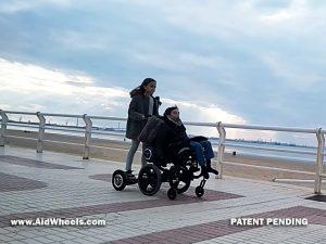 silla minusvalidos hoverboard