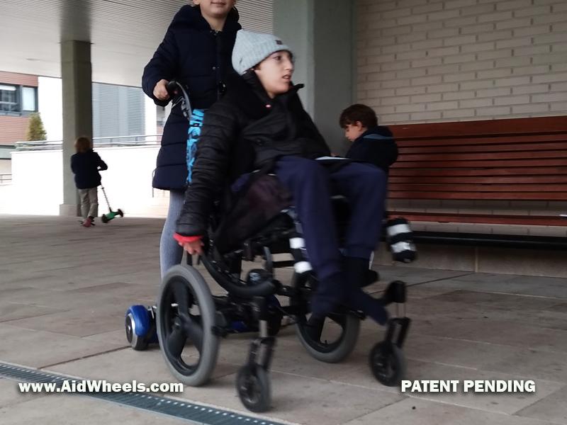silla de ruedas aidwheels hoverboard