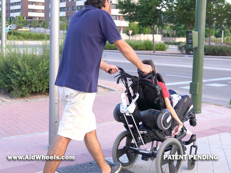 silla ruedas hoverboard aidwheels fotos