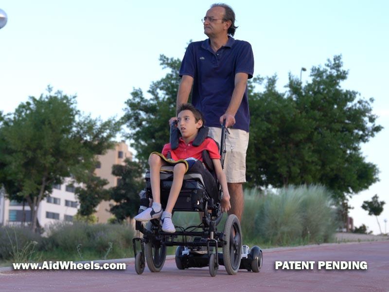 silla ruedas hoverboard ortopedia