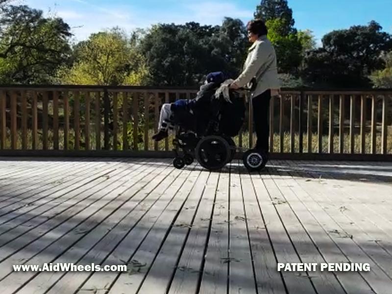 silla ruedas hoverboard para pasear