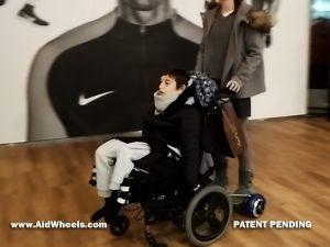 silla ruedas motorizada