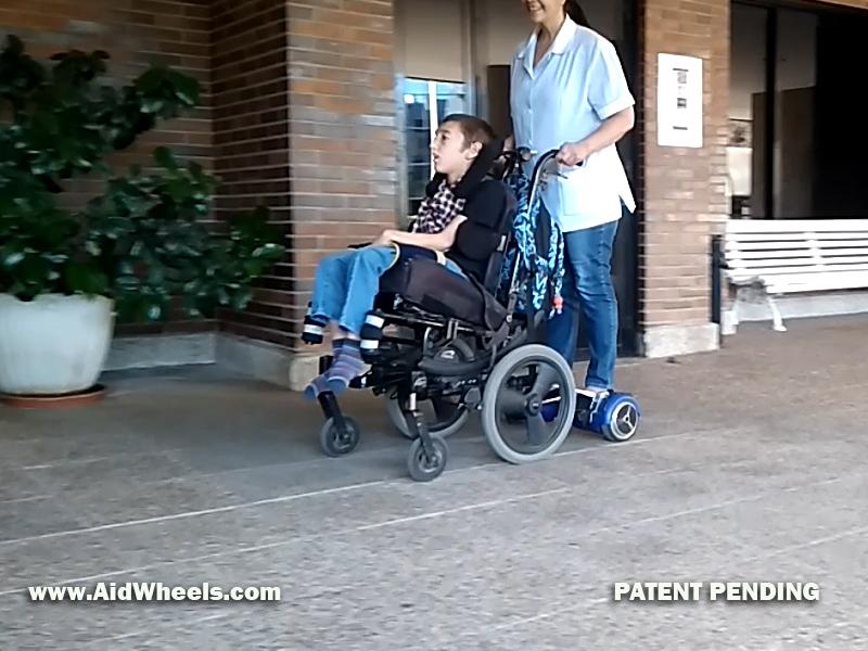 sillas de ruedas hoverboard