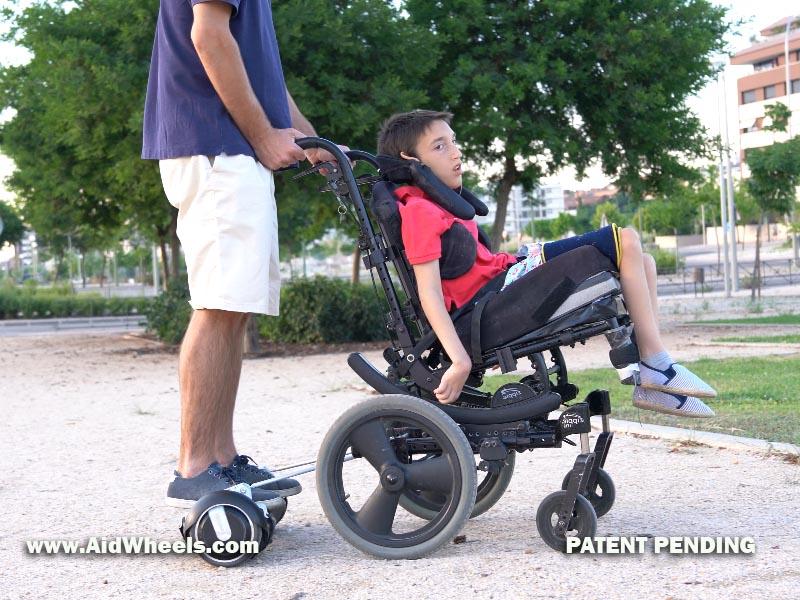 sillas de ruedas hoverboard aidwheels movilidad