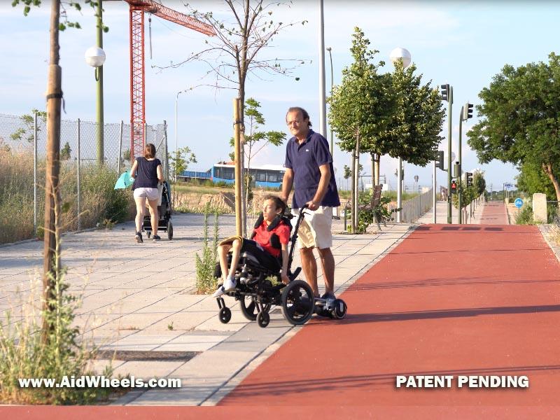sillas de ruedas que funcionan con hoverboard