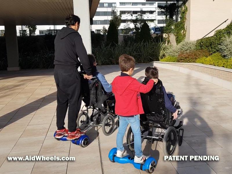 motorizar silla ruedas