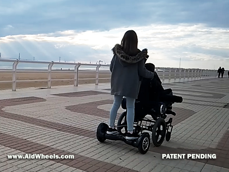 wheelchair hoverboard smart mobility