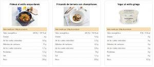 menu online para empresa saludables
