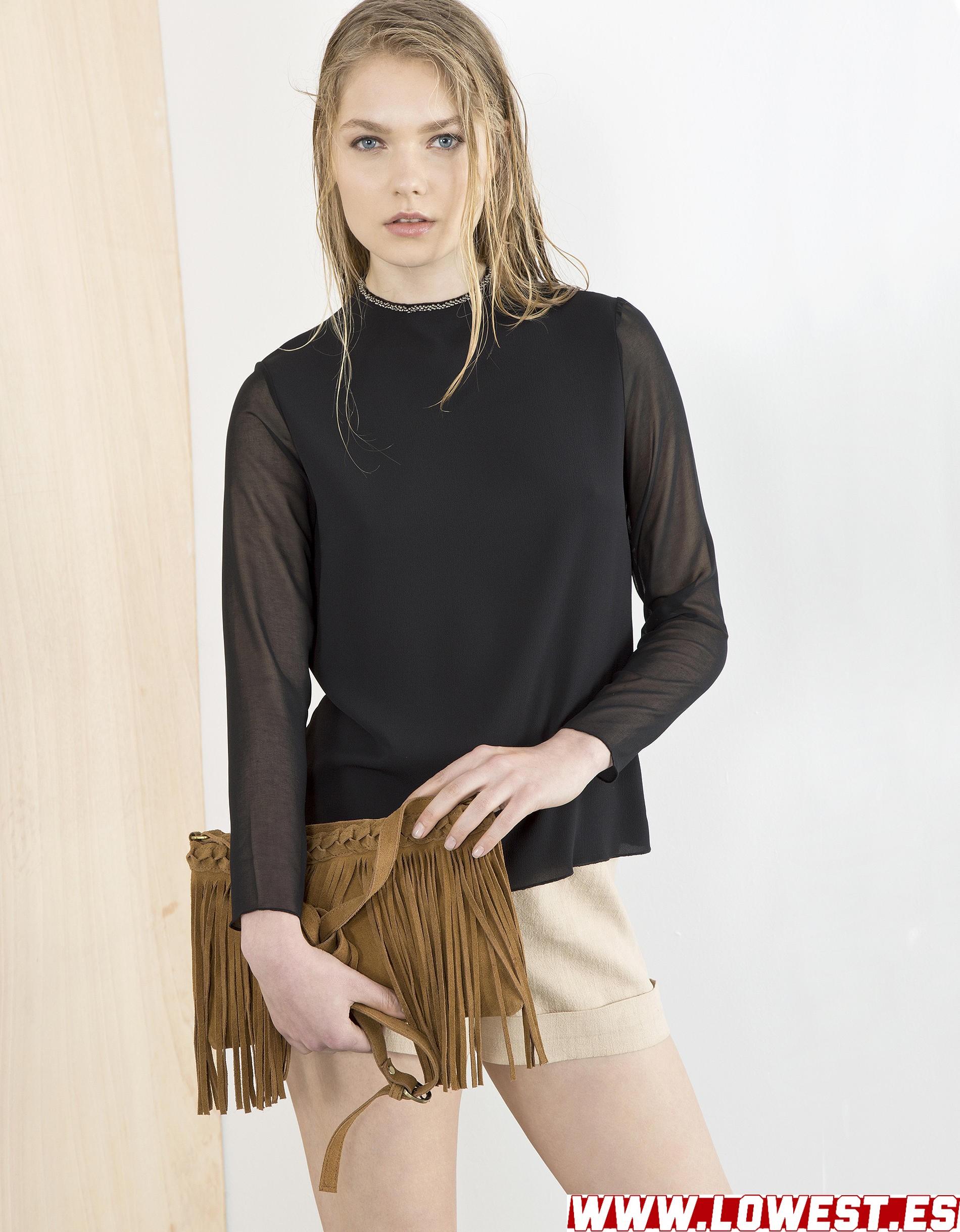 moda de mujer Lowest vestido negro 2019 2020