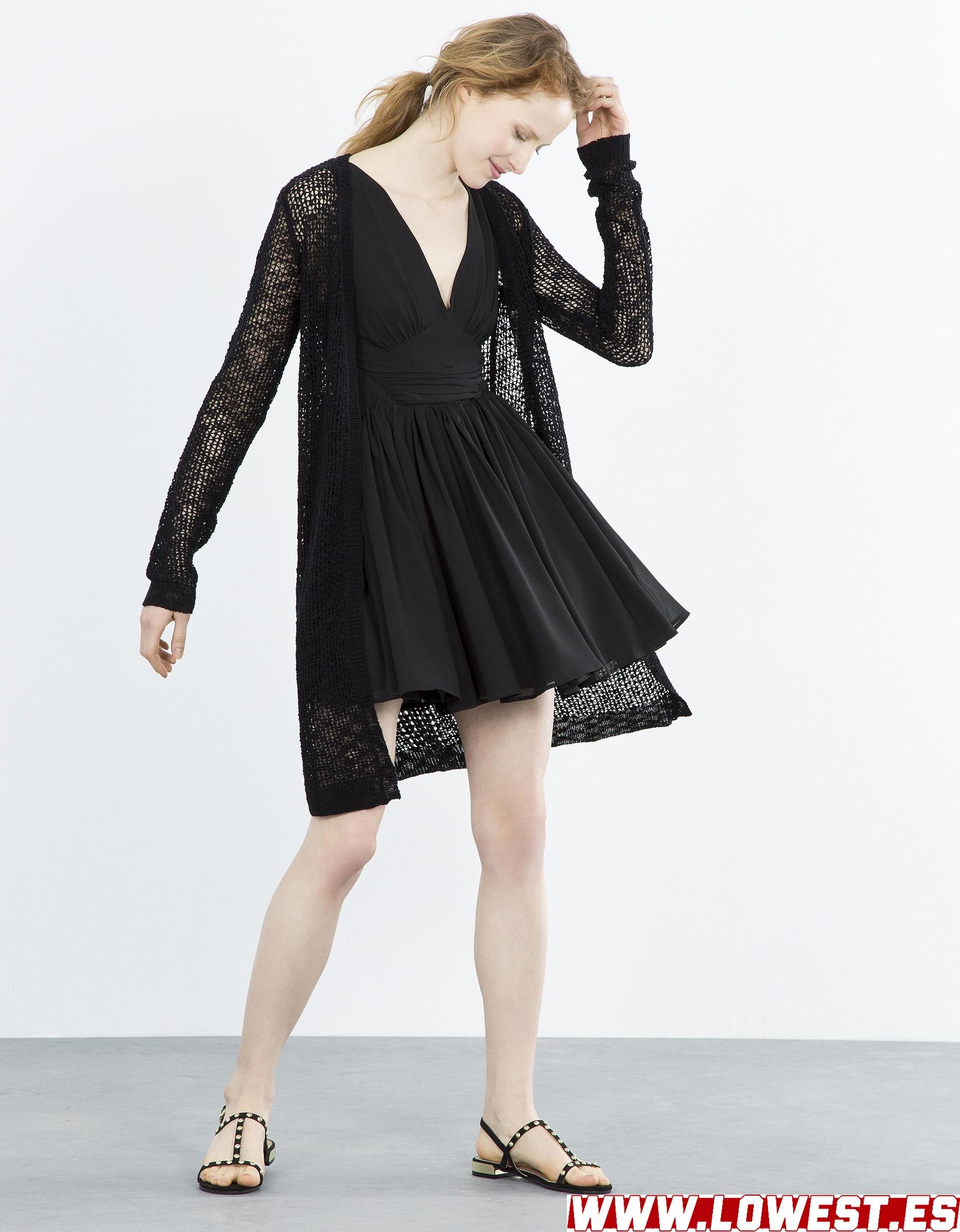 ropa señora comprar vestido negro 2019 2020