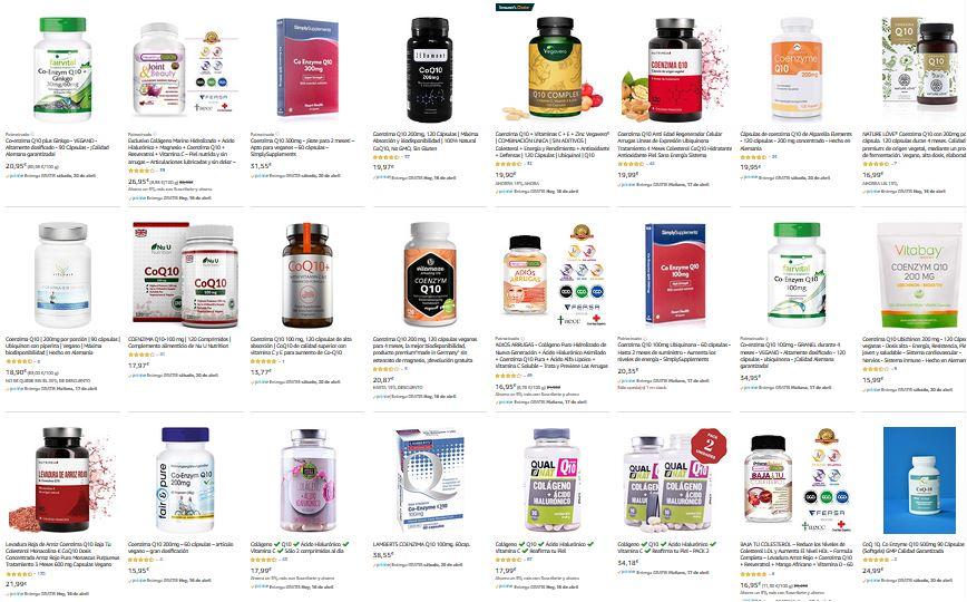 suplementos nutricionales vitaminas