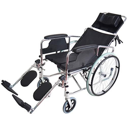 Silla de Ruedas Adulto Discapacitados Plegable para hoverboards