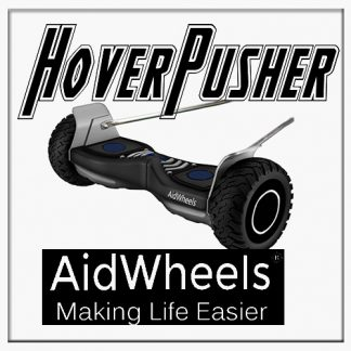 AidWheels HoverPusher para Silla de ruedas aluminio rueda 24 Breezy Style