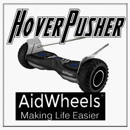 AidWheels HoverPusher para Silla de ruedas Transit plegable de aluminio