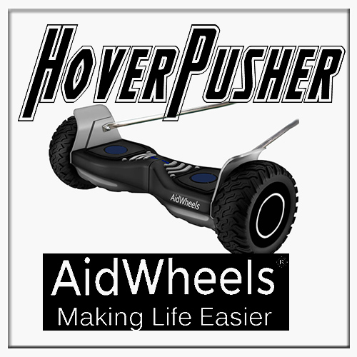 AidWheels HoverPusher para Silla de ruedas manual pediátrica Invacare Action 3 Junior