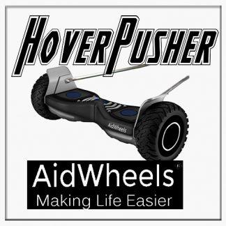 AidWheels HoverPusher para Silla de ruedas Transit plegable de aluminio, con frenos,