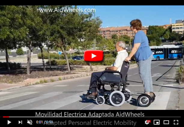 hoverpusher aidwheels wheelchairs