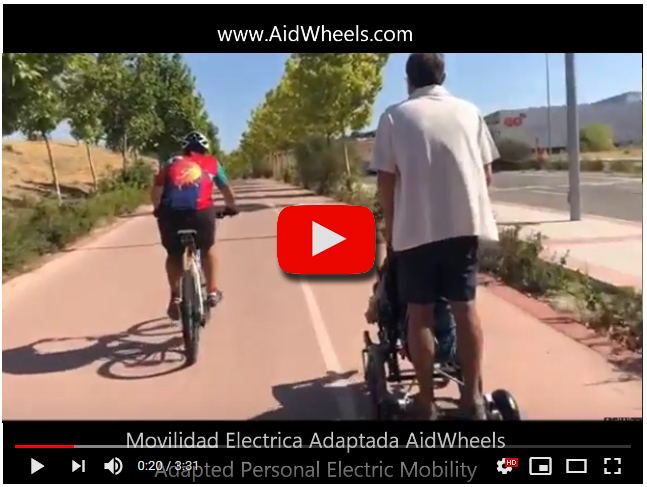 wheelchair power pack aidwheels
