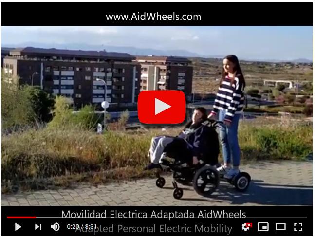 movilidad electrica personal discapacitados