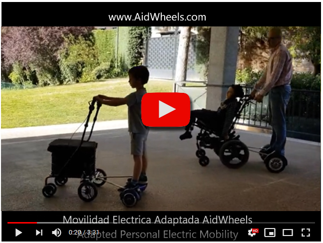 Motor ayuda carrito bebes