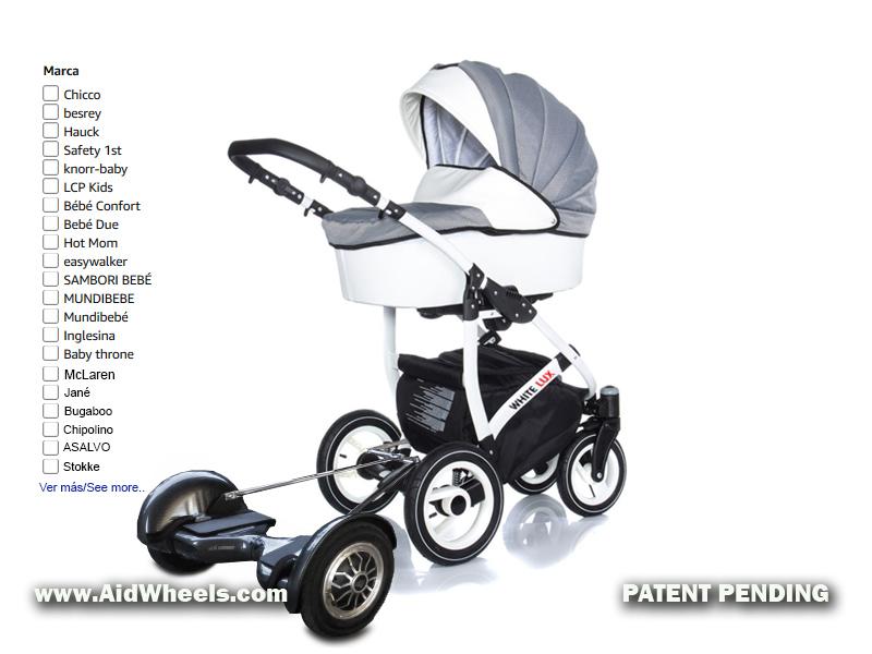 sillas bebe con motor