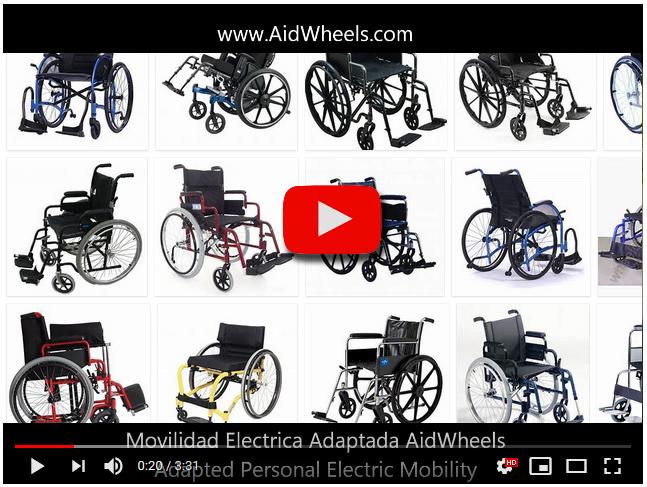 sillas de ruedas para hoverboard