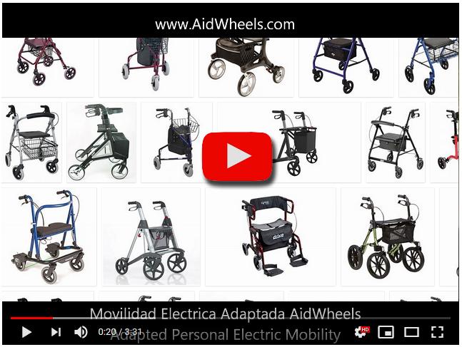 andador electrico para ancianos