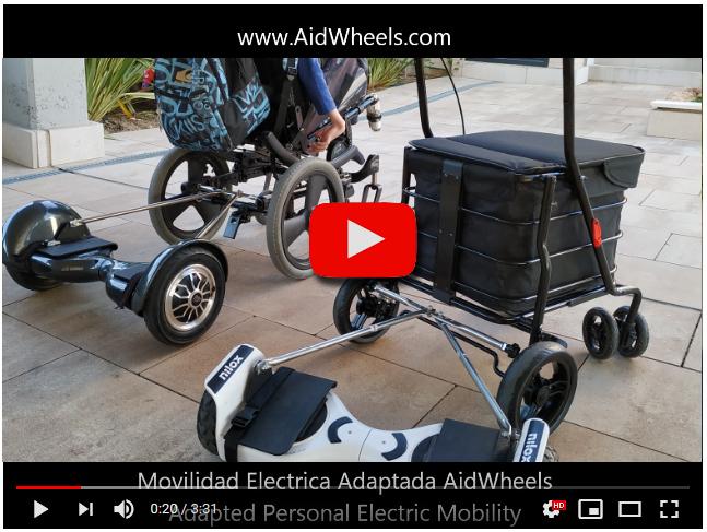 Andador para ancianos con motor