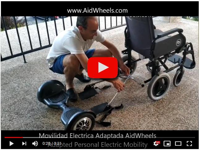 motor asistente silla de ruedas
