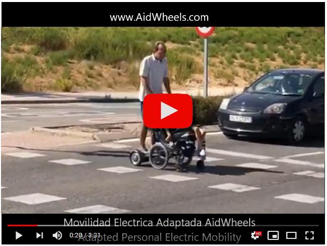 motor acompañante silla ruedas mobiclinic