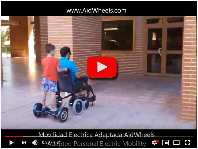 kit electrico silla ruedas