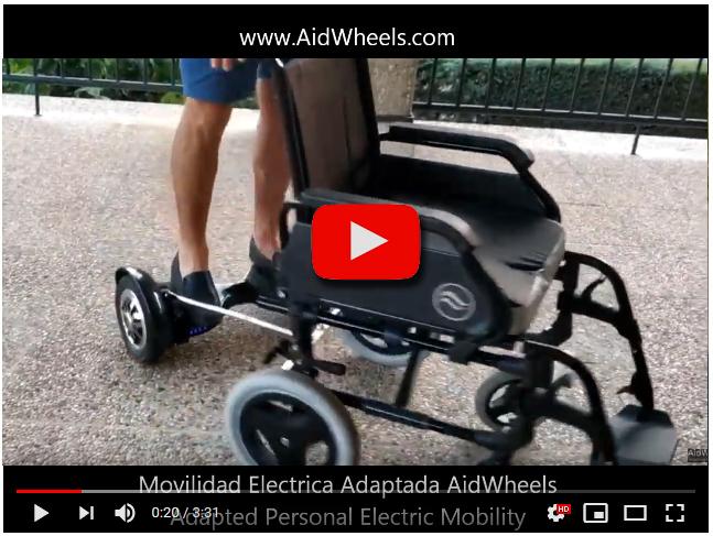 motor asistente silla de ruedas cuestas rampas bordillos ayuda empujar