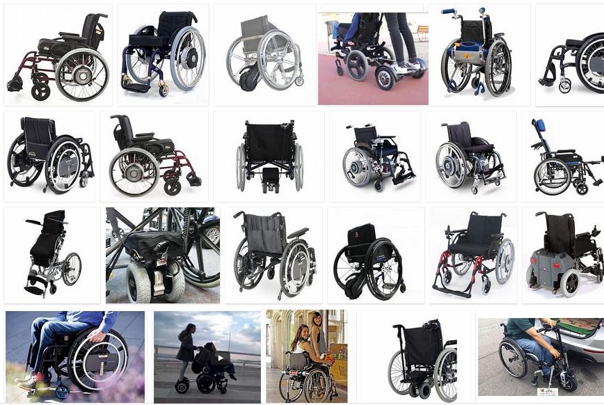 motores acompañante asistente sillas de ruedas