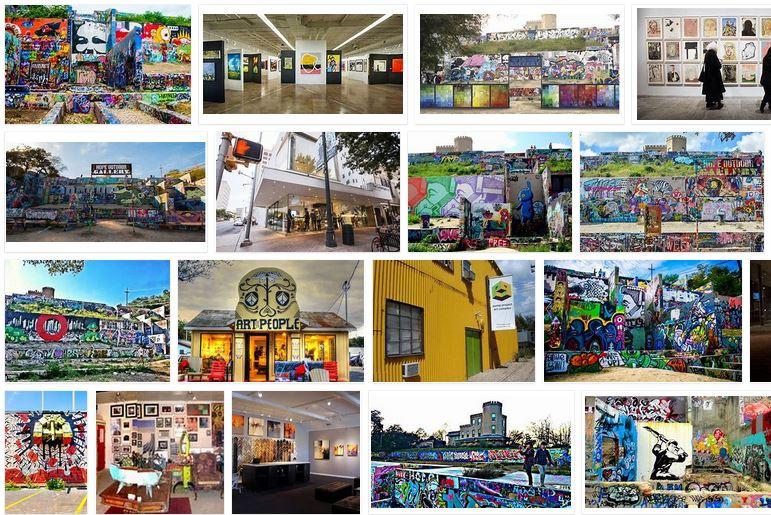 galerias de arte en austin texas