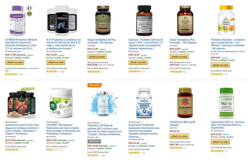 suplementos probioticos comprar